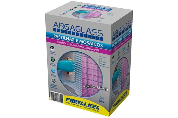 Argaglass Cinza 5kg  - Fortaleza