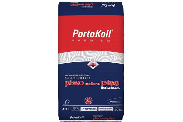 Argamassa Ac 2 Piso Sobre Piso Externo Superkoll Cinza 20kg - Portokoll