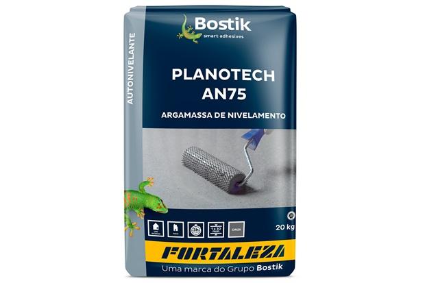 Argamassa Autonivelante Interno Planotech An75 20kg Cinza - Fortaleza