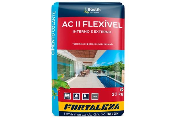 Argamassa Flexível para Assentamento Interno E Externo 20kg Cinza - Usina Fortaleza