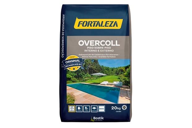 Argamassa Overcoll Multifuncional Secagem Rápida Branca 20kg - Fortaleza