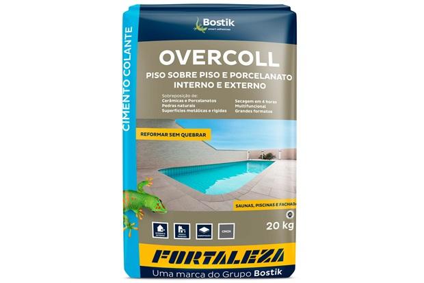 Argamassa Overcoll Piso Sobre Piso 20kg Cinza - Usina Fortaleza