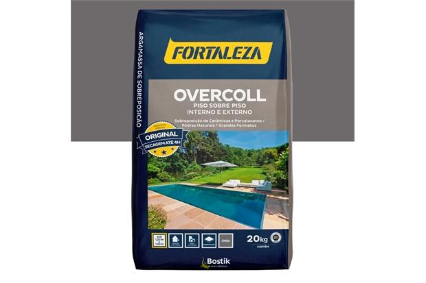 Argamassa Overcoll Piso Sobre Piso E Azulejo Sobre Azulejo Cinza 20kg - Usina Fortaleza