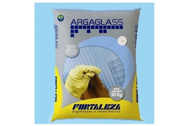 Argamassa para Pastilha de Vidro Argaglass 20 Kg Azul 475 - Fortaleza