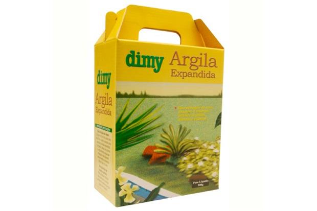 Argila Expandida 900 Gramas - Dimy