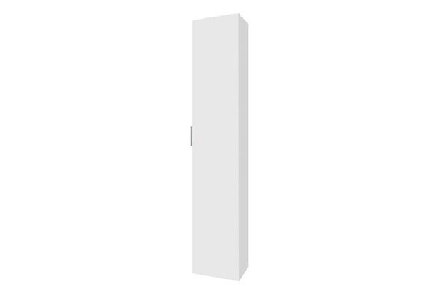 Armário de Banheiro Vertical Blu Mdf Branco 1 Porta 160x30cm  - Bumi Móveis