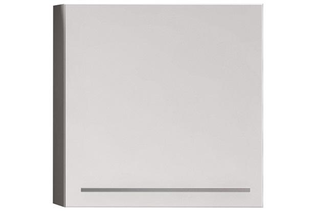 Armário de Cozinha Aéreo Fit Mdf Lado Esquerdo 1 Porta Branco 60x60cm  - Bumi Móveis