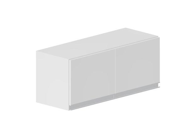 Armário para Cozinha em Mdf Veneza 33,5x80cm Branco - Bonatto