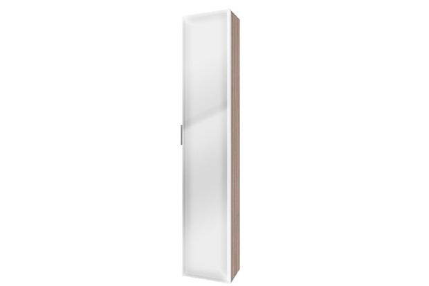 Armário Vertical para Banheiro Blu 160x30cm Grigio - Bumi Móveis