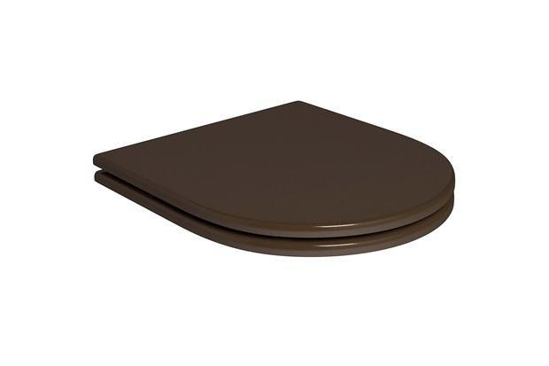 Assento Poliéster Slow Close com Microban - Deca