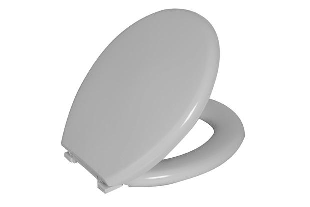 Assento Sanitário Almofadado Perfumado Branco  - Astra