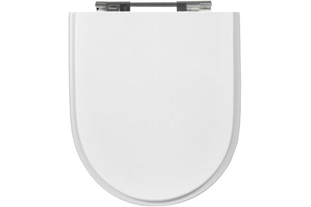Assento Sanitário em Mdf Riviera/Nexo/Smart Branco Gelo - Sicmol