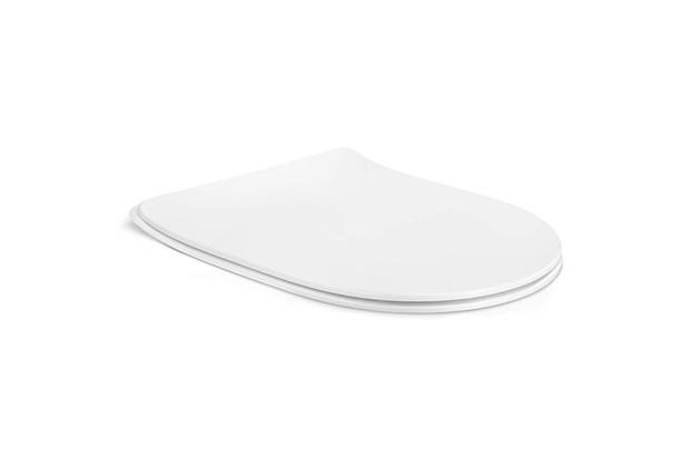 Assento Sanitário em Polipropileno Oval Laufen Pro Soft Close Branco - Roca