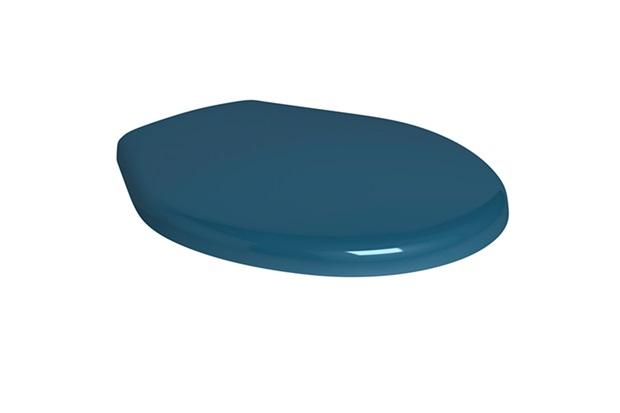 Assento Sanitário em Polipropileno Ravena Azul - Deca