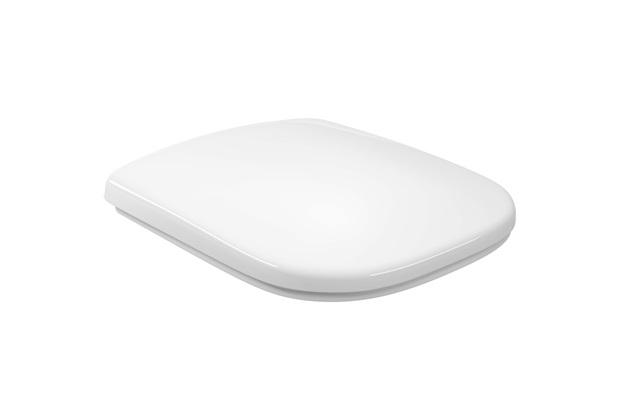 Assento Sanitário em Polipropileno Slow Close Quadra/Polo/Unic Branco - Deca