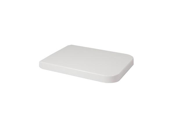Assento Sanitário em Polipropileno Soft Close Malva Branco - Mari Louças Sanitárias