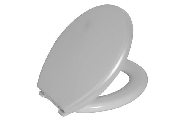 Assento Sanitário em Poliuretano Almofadado Oval Tpk Pérola - Astra