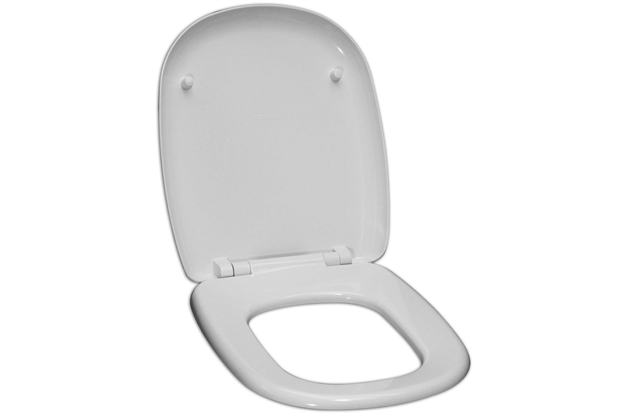 Assento Sanitário em Resina Termofixa Dona Beja Branco - Tupan