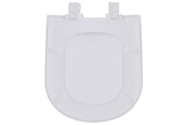 Assento Sanitário em Resina Termofixa Flox Branco Gelo - Tupan