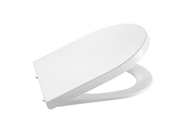 Assento Sanitário em Termofixo Inspira Round Branco - Roca
