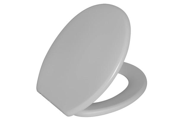 Assento Sanitário Oval Soft Branco - Astra