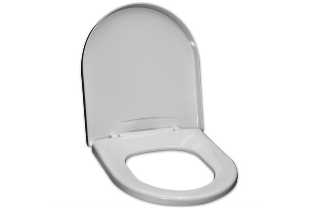 Assento Sanitário Polipropileno Riviera Branco  - Tupan