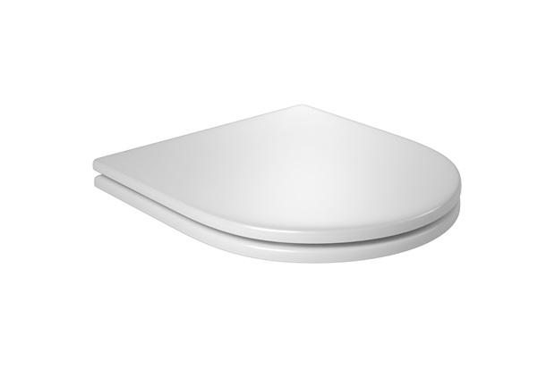 Assento Sanitário Slow Close Carrara Branco Gelo - Deca