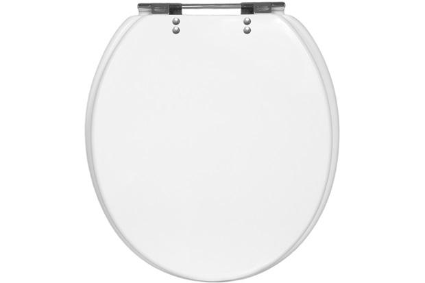 Assento Sanitário Universal em Poliéster Branco - Casanova