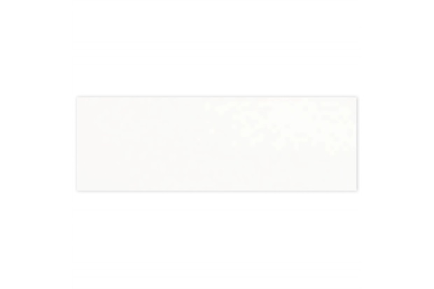 Azulejo Acetinado Borda Reta Clean White Plain Matte 30x90cm - Portinari