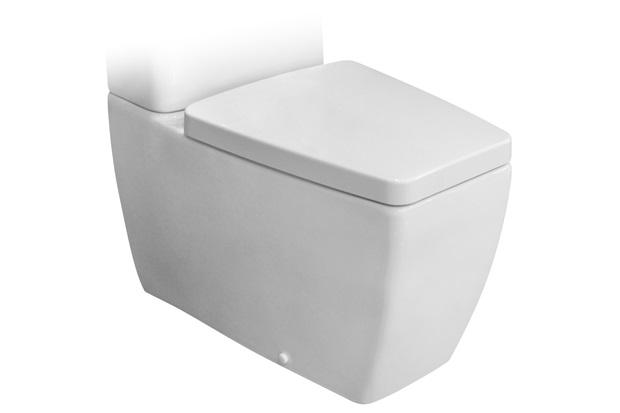 Bacia para Caixa Acoplada Ciprea Branca - Jacuzzi