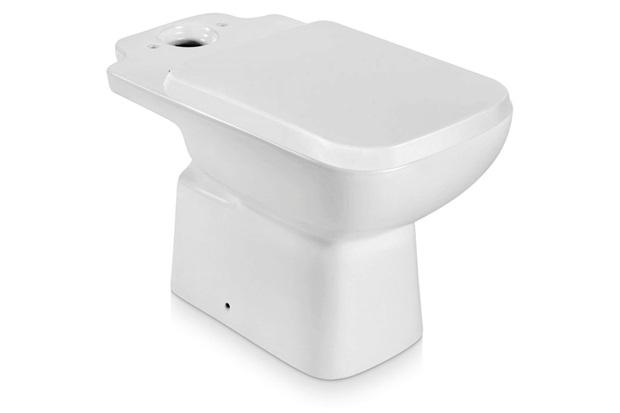 Bacia para Caixa Acoplada com Assento Sanitário Misti Branca - Icasa