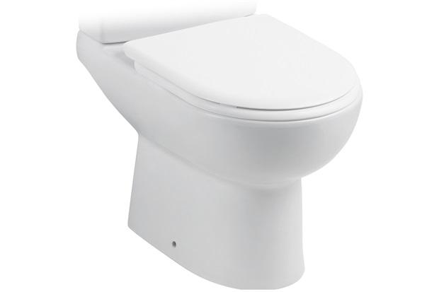 Bacia para Caixa Acoplada Smart Branca - Celite
