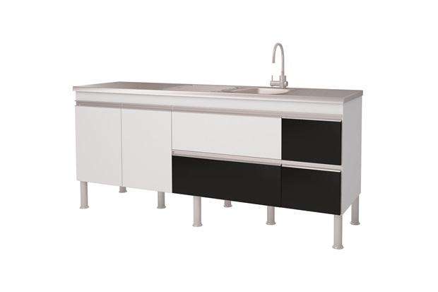 Balcão Cozinha Prisma 200 - MGM Móveis