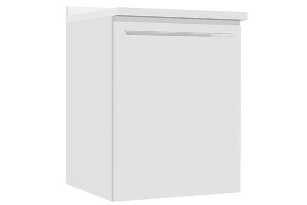 Balcão em Mdf Fit 60 64,5x60cm Branco Brilhante - Bumi Móveis