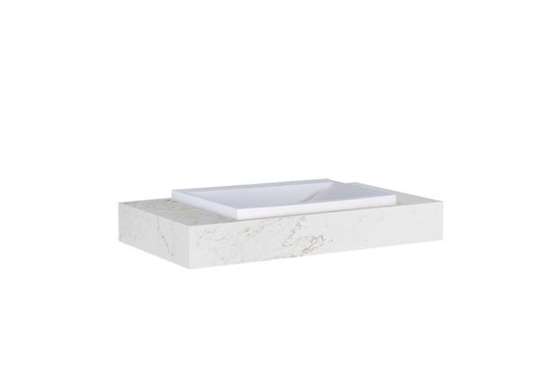 Bancada Suspensa Arati 60 de 60x45cm Branco - Cozimax
