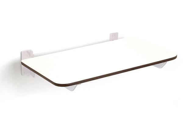 Banco Articulado para Banho 50cm Branco  - Crismoe