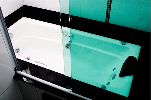 Banheira Retangular sem Aquecedor 5 Jatos Acrilbath Top Line 180x80cm Branca - Ouro Fino