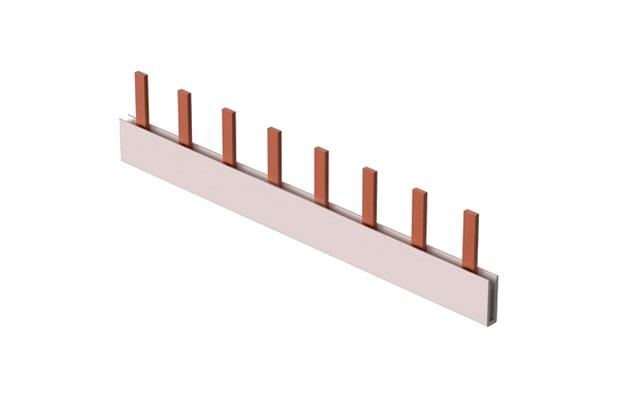 Barramento Monofásico Fase Din 12 Polos 80a - Steck