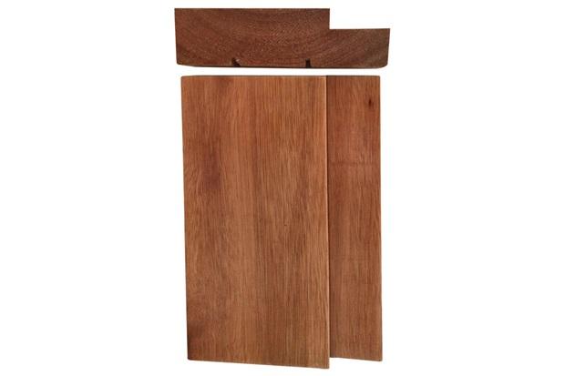 Batente em Madeira Maciça para Porta 214x100x14cm Natural - Cruzeiro