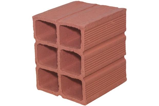 Bloco Cerâmico 11,5x14x11,5cm Avermelhado - Cerâmica Nova União