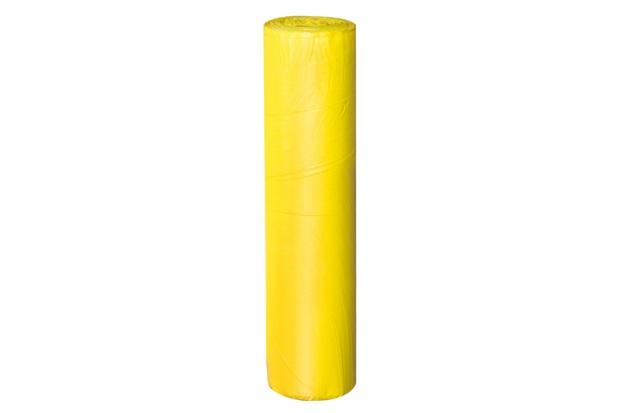 Bobina de Lona Plástica 40cm com 10 Metros Amarela - Plasitap