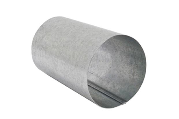 Bocal para Calha Redondo Galvanizado 28cm - Calha Forte