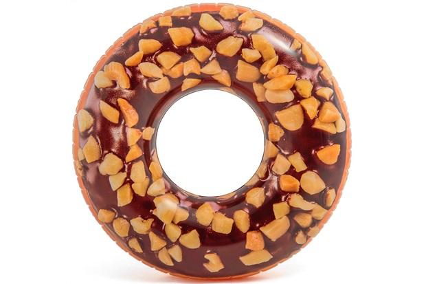 Boia para Piscina Donut Chocolate Marrom - Importado