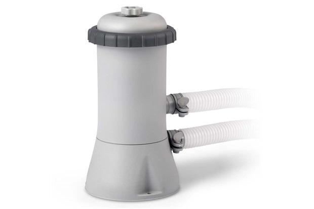 Bomba de Ar Elétrica para Piscina 110v Branca - Intex