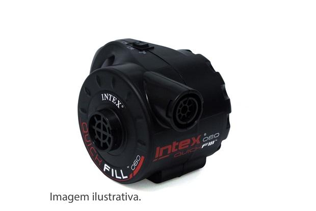 Bomba Quick - Fill Elétrica 10,47x30,47x43,50cm(Lxaxp)  110v Ref.:66621        - Intex