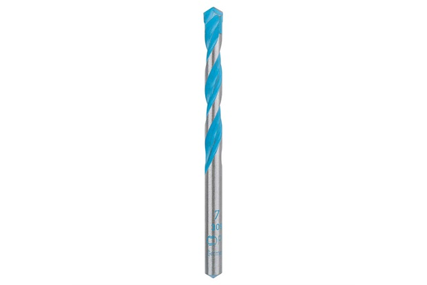Broca Multiconstruction 7mm Azul E Cromada - Bosch