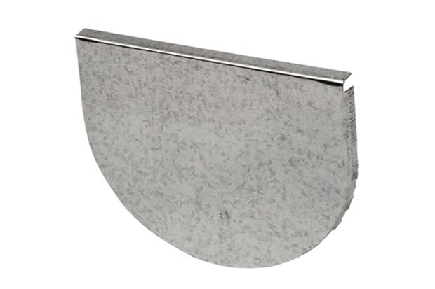 Cabeceira para Calha Platibanda Galvanizada 28cm - Calha Forte