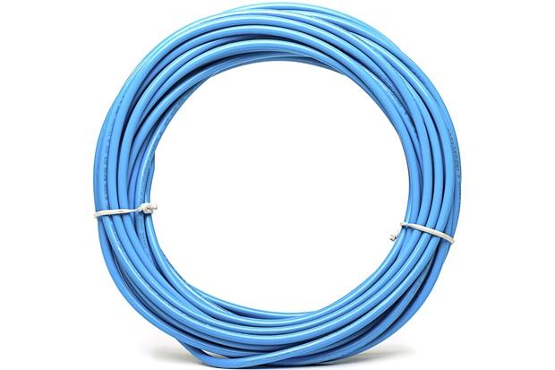 Cabo de Energia 2,5mm² Duflex com 100 Metros Azul - Induscabos