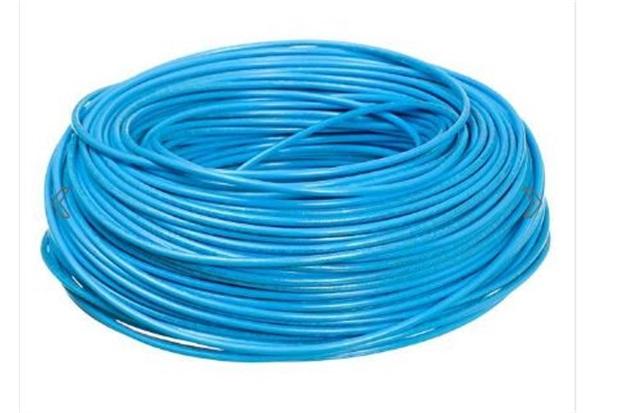 Cabo de Energia 750v 2,5mm² Flexicom Antichama com 100 Metros Azul - Cobrecom