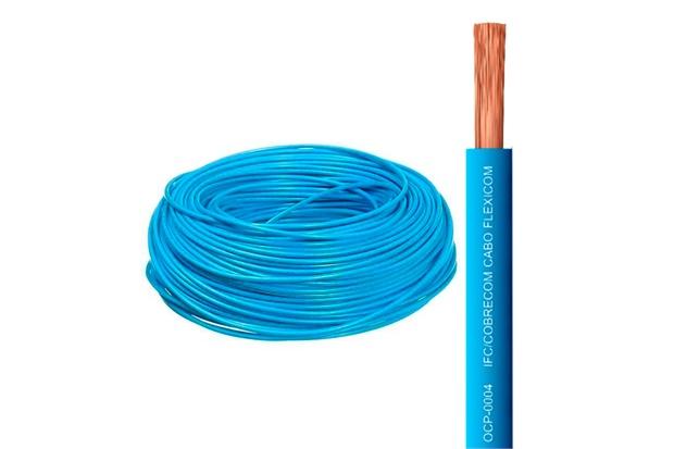 Cabo Flexível 1,5mm com 100 Metros Azul - Cobrecom